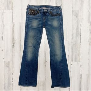 True Religion Y2K Low Rise Flare Jeans